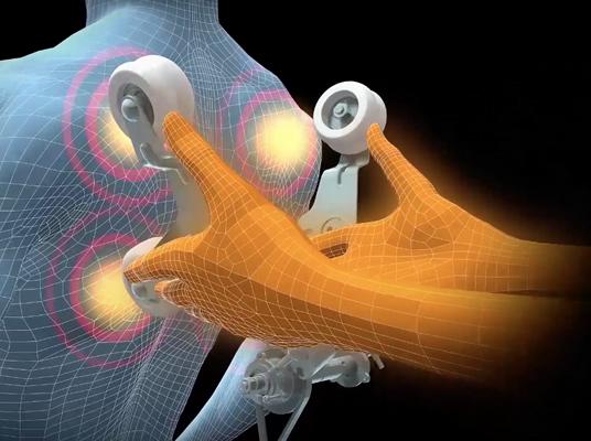 Automatische Nacken- und Schulterverlängerung